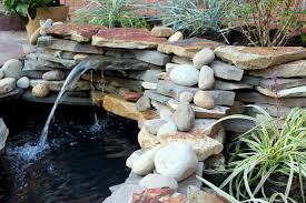 diy patio pond: diy backyard pond amp landscape water feature landscape outdoor living patio ponds