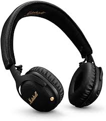 <b>Marshall Mid</b> Active Noise Cancelling (<b>A.N.C.</b>) Headphones with…