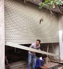 Sửa chữa cửa cuốn giá rẻ tại Nha Trang