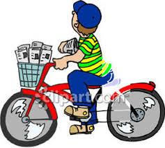 Image result for paper boy  clip art images