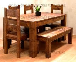 rustic dining table picturesque