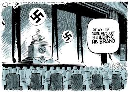 Image result for trump hitler cartoons