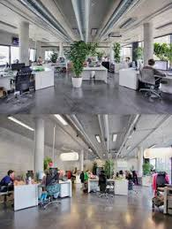 open office plan coordinated with plants cubiclescom awesome open office plan coordinated