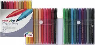 <b>Фломастеры Color Pen</b>, 24 цвета | Купить с доставкой | My-shop.ru