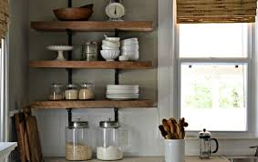 Kitchen Open Shelves Kitchen Amazing Kitchen Shelf Ideas Wall Shelf Ideas Home Depot
