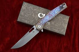 New <b>CH3538</b> folding knife S35VN blade titanium alloy handle ...