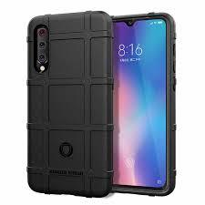 For Xiaomi Mi 9 Case <b>Soft Silicone rugged shield</b> shockproof Armor ...