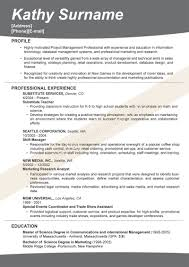 resume  examples of effective resumes  corezume coeffective resume formats  examples of effective