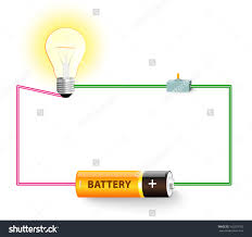 Drawing Electric Circuits Electric Circuit Diagram Stock Photos Images Pictures