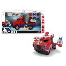 Игрушка <b>Dickie Toys</b> Боевой трейлер Optimus Prime из серии ...