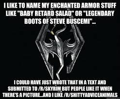 Almost Politically Correct Skyrim memes | quickmeme via Relatably.com