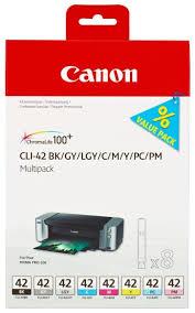 <b>Набор картриджей Canon</b> CLI-42 Multipack (6384B010) купить по ...