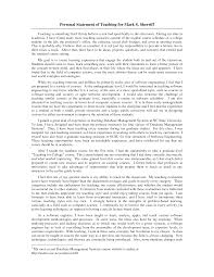 An example of a high quality personal statement   Institute of Personal statement for   net   net