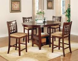 cherry counter height piece: dark cherry counter height dining set lavon collection