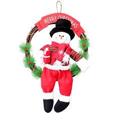 <b>1pcs lot</b> Flower Wreath Christmas Garlands Hangings <b>35cm</b> Festival ...