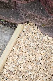 patio steps pea size x: how to create a chic gravel patio