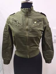 Full Sleeve <b>Solid Color</b> With Patch Surplus <b>Winter Ladies</b> Jacket, Rs ...