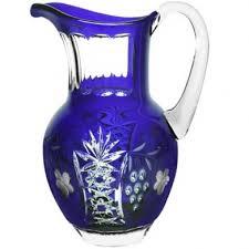 Купить <b>Кувшин для воды</b> Ajka <b>Crystal</b> Grape 1,2 л (арт. cobaltblue ...