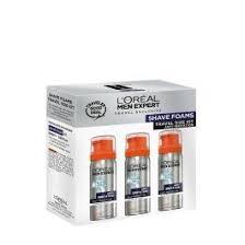 <b>L'Oréal Paris Men Expert</b> Shave Foam Travel Set 3x50ml | Duty Free ...