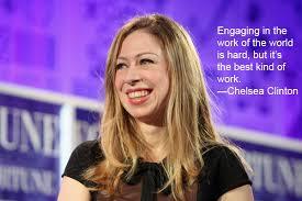 Empowering Chelsea Clinton Quotes We Love via Relatably.com