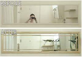 antique bathroom mirror makeover mirrors