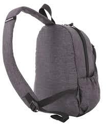 <b>Рюкзак</b> на одно плечо Swissgear <b>Grey Heather</b>, серый (артикул ...