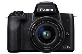 Купить <b>Фотоаппарат CANON EOS M50</b> kit ( 15-45 IS STM), черный ...