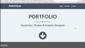 create a portfolio bootstrap html css create a portfolio bootstrap html css
