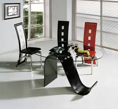 Dining Room Tables Contemporary Modern Dining Set Design Glass Top Table Contemporary Dining Room