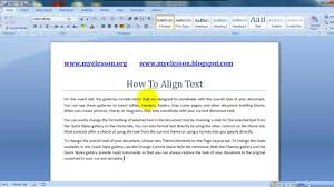 ms word format text better justify alignment ms word format text better justify alignment
