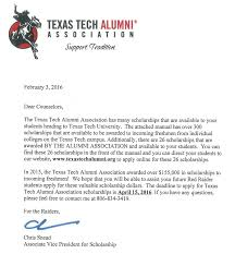 scholarships sweetwater isd texas tech alumni association scholarship 2017