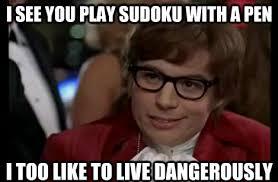 Classic Memes: Living Dangerously - PicSauce via Relatably.com