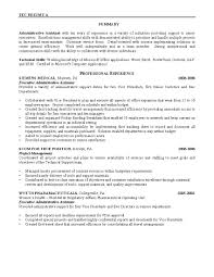 executive administrative assistant resume examples ziptogreen com resume examples sample resume for administrative position sample objective resume administrative assistant example objective for resume