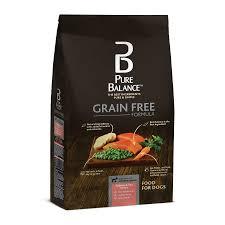 Pure Balance Grain Free Salmon & Pea Recipe Food for Dogs 11lbs ...