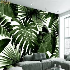 <b>beibehang Custom Photo Wallpaper</b> Retro Tropical Rain Forest ...