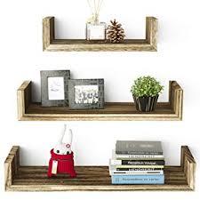 SRIWATANA Floating <b>Shelves Wall Mounted</b>, <b>Solid Wood</b> Wall
