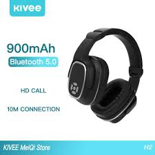 <b>Wireless Bluetooth</b> Headsets <b>KIVEE</b> Noise Cancelling Multifunction ...