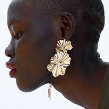 <b>HOCOLE Fashion</b> Design <b>Metal</b> Leaf <b>Drop</b> Earrings Jewelry Hot ...