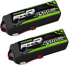 <b>Ovonic</b> 6S <b>22.2V</b> 4500mAh 50C Lipo Battery with Deans Plug for X ...