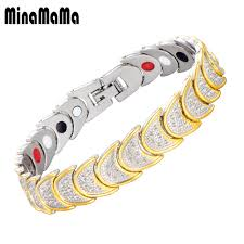 Men's <b>Magnetic</b> Germanium <b>Bracelet Bangle For</b> Women Tortoise ...