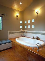 image bathtub decor: tile tub surround photos def  w h b p eclectic bathroom