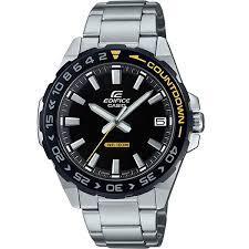 Купить кварцевые <b>часы Casio</b> Edifice <b>efv</b>-<b>120db</b>-<b>1avuef</b> Black/Grey ...