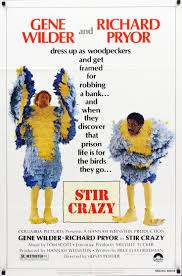 best images about richard pryor harlem nights showbiz types wilder and pryor take odd jobs until they break even one involves dressing up as cuckoos to promote a bank this leads to an arrest and