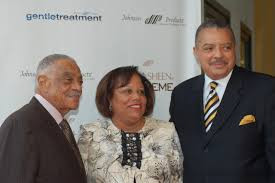 2011 what s new at jpc right to left 9 11 survivors eric and renee brown johnson products company founder george e johnson