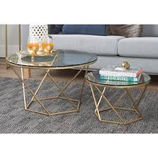 Everly Quinn Aman <b>2</b> Piece <b>Coffee Table Set</b> - Domun Sakmon