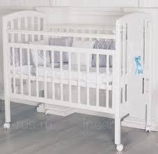 Детская <b>кроватка Incanto</b> HUGGE (колесо)