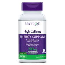 Natrol High Caffeine Extra Strength, Energy Support, 200 mg ... - Natrol