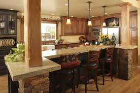 home open dining room design wooden