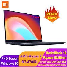 <b>Xiaomi RedmiBook 16</b> Ryzen Edition Laptop AMD Ryzen R5 4500U ...