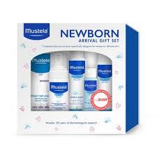 Mustela <b>Newborn</b> Arrival <b>Baby</b> Bath And Body <b>Gift</b> Set : Target